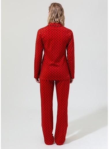 Dagi Pijama Takım Kiremit